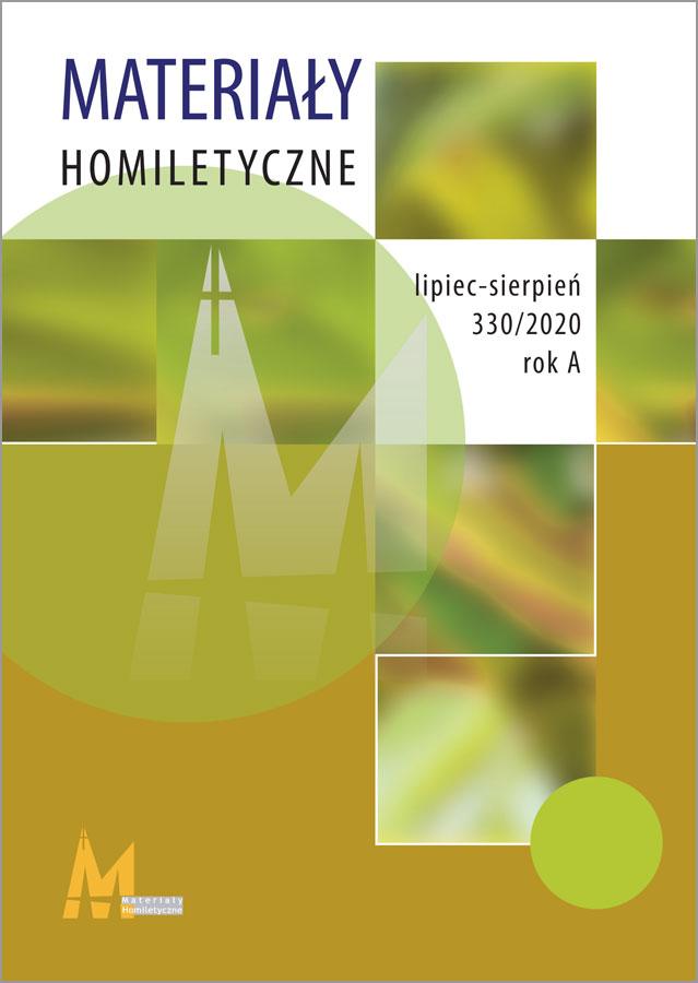 Materiały Homiletyczne 329 Rok A maj-czerwiec